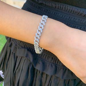 ✨ silver links bracelet